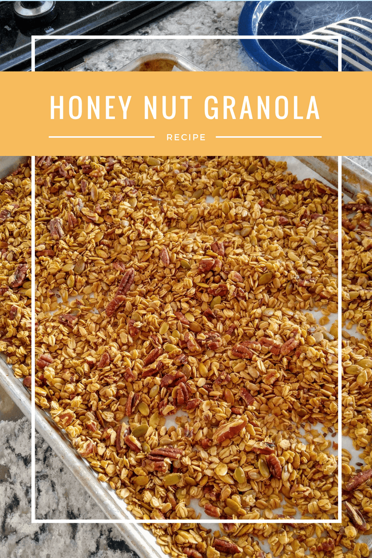 Honey-Nut Granola
